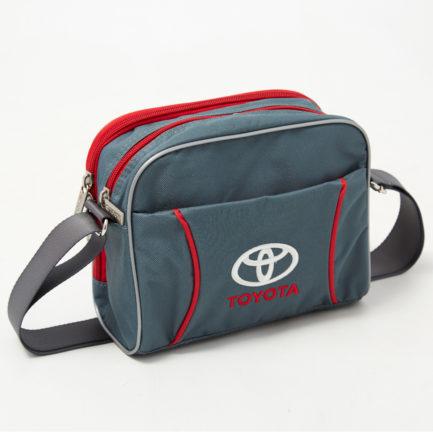 Повседневная сумка через плечё | С417 | Ваш лого