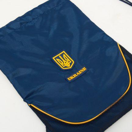 Рюкзак-мешок трансформер | РМ3 | «Ukraine» Жёлто синий
