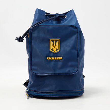 Рюкзак-мешок трансформер | Р3_1 | «Ukraine» Жёлто синий