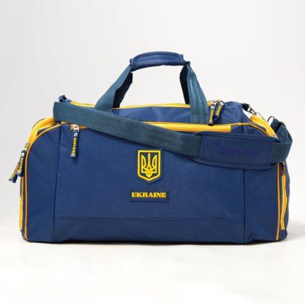 Сумка спортивная | С195 | «Ukraine» Жёлто синий