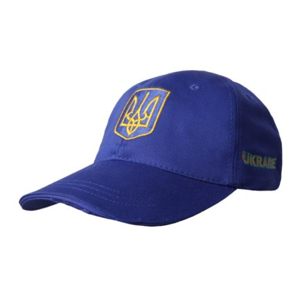 Бейсболка | «Ukraine» Жёлто синий