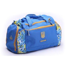 Сумка спортивная | С195M | «Ukraine» Голубая