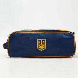 Чехол обувной | ЧО1 | «Ukraine» Тёмно-синий
