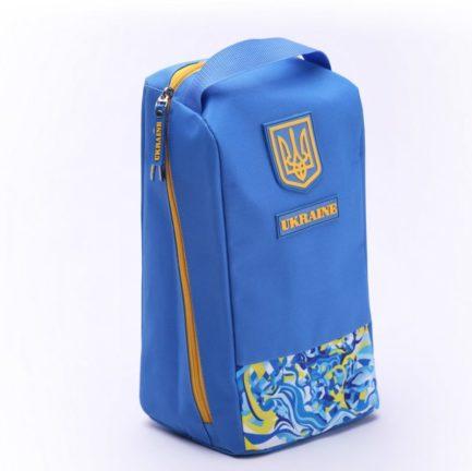 Чехол обувной | ЧО2 | «Ukraine» Жёлто синий
