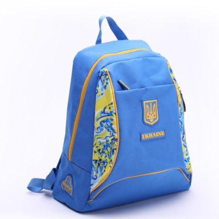 Рюкзак повседневный   Р26_3   «Ukraine» Жёлто синий