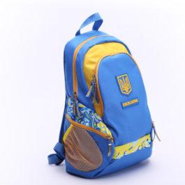 Рюкзак спортивный | Р271 | «Ukraine» Голубой