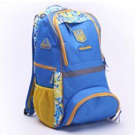 Рюкзак спортивный | Р379 | «Ukraine» Голубой