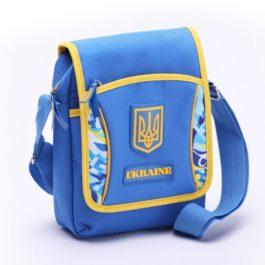 Барсетка / Сумка через плече | С426 | «Ukraine» Голубая
