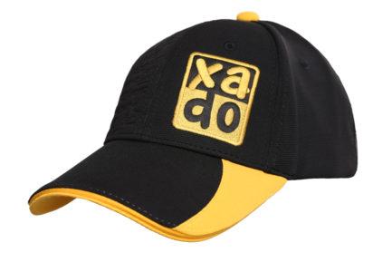 Бейсболка | «XADO» Черно — желтая | Образец | На заказ