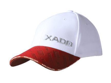 Бейсболка | «XADO» Красно — белая | Образец | На заказ