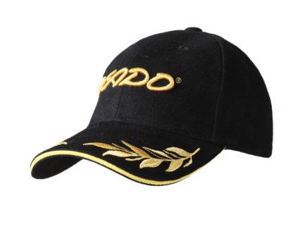 Бейсболка | «XADO» Черно — золотая | Образец | На заказ