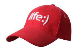Бейсболка | «Life :)» | Образец | Promo