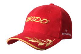 Бейсболка | «XADO» Красно — золотая | Образец | Premium